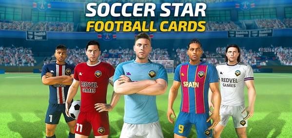 Soccer Star 2021 Football Cards Logo
