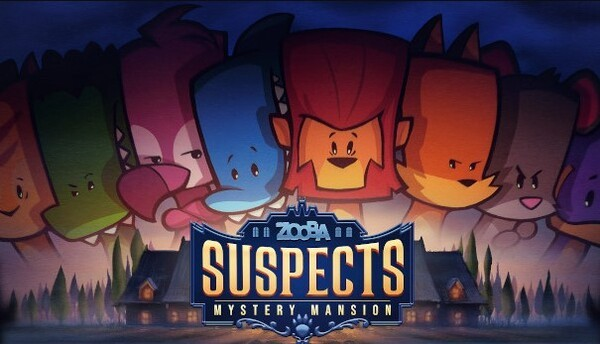 Suspects Mystery Mansion Mod Logo