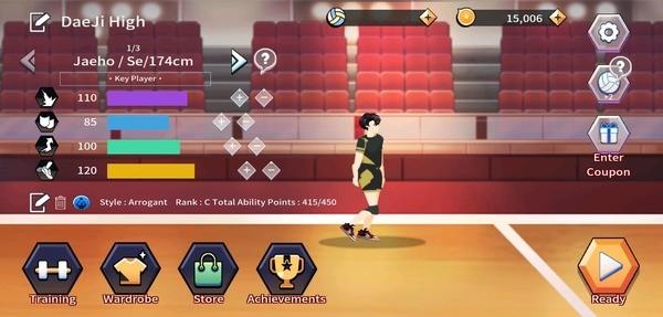 The Spike Volleyball Story Screenshot 1