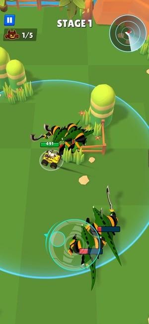 Battle Cars Monster Hunter Screenshot 2