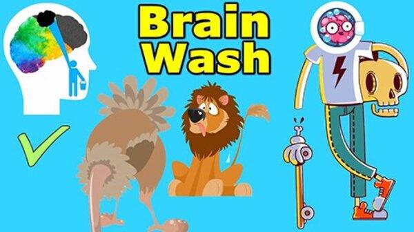 Brain Wash Logo