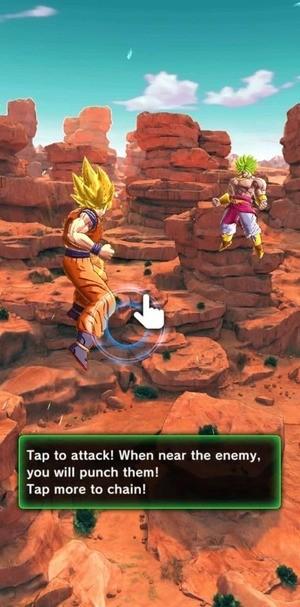 DRAGON BALL LEGENDS Screenshot 1