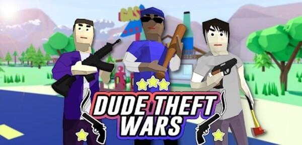 Dude Theft Wars Logo