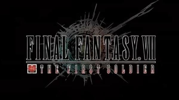 Final Fantasy VII The First Soldier Logo