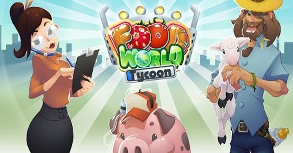 Food World Tycoon Logo