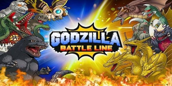 Godzilla Battle Line Logo
