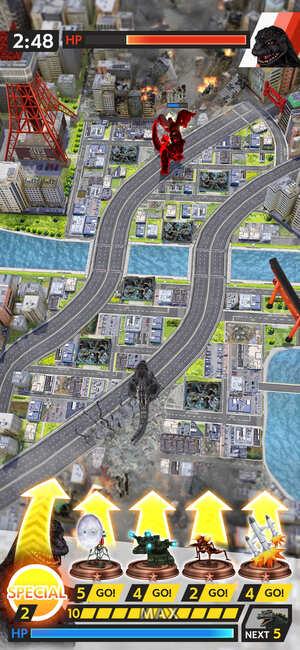Godzilla Battle Line Screnshot 1
