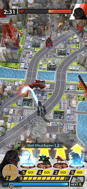 Godzilla Battle Line Screnshot 2