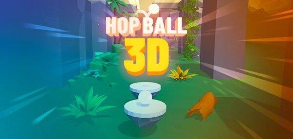 Hop Ball 3D Logo