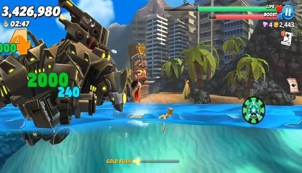 Hungry Shark Evolution Screen 3