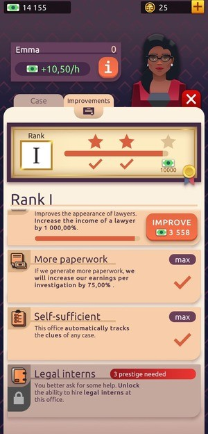 Law Empire Tycoon Screenshot 2