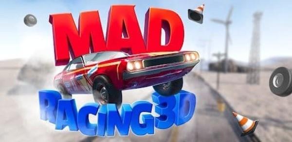 Mad Racing 3D Logo