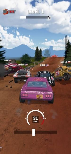Mad Racing 3D Screenshot 1