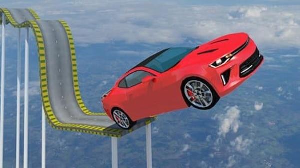Mega Ramp Car Jumping Logo