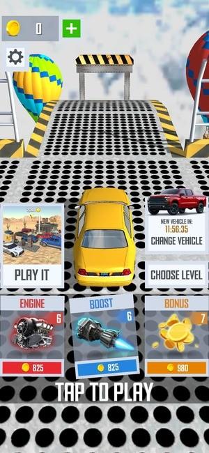 Mega Ramp Car Jumping Screenshot 1