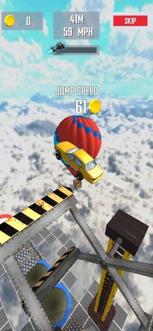 Mega Ramp Car Jumping Screenshot 2