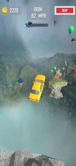 Mega Ramp Car Jumping Screenshot 3