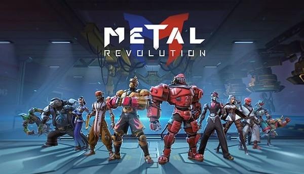 Metal Revolution Logo