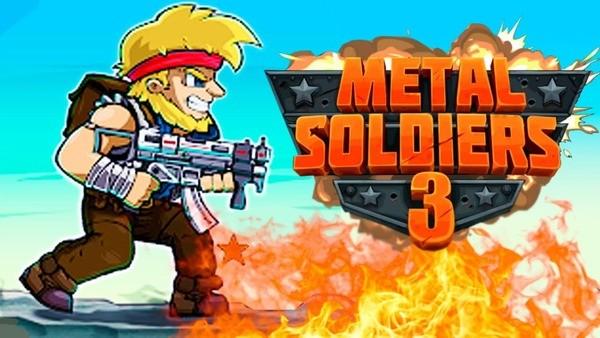 Metal Soldiers 3 Logo