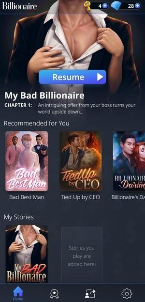 My Billionaire Love Stories Screen 1