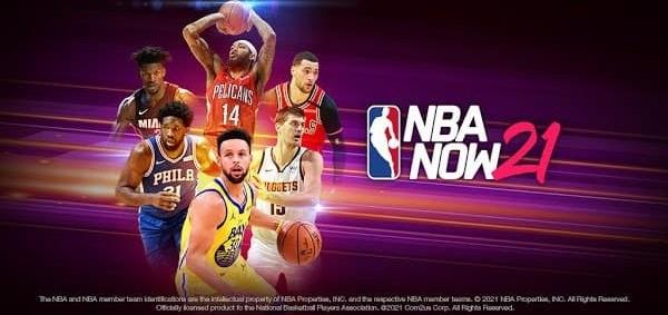 NBA NOW 21 Logo
