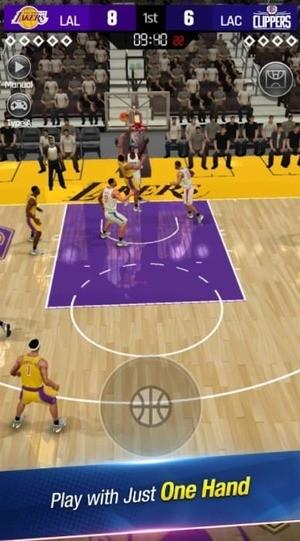 NBA NOW 21 Screenshot 1