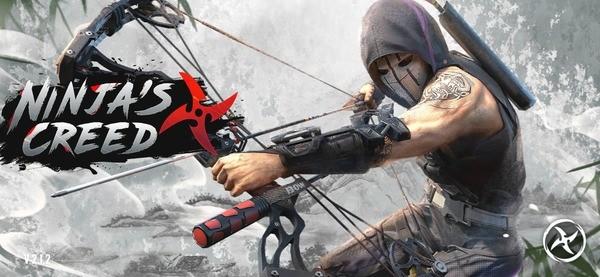 Ninja's Creed 3D Sniper Shooting Assassin Game Logo