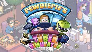 PewDiePie's Tuber Simulator Logo