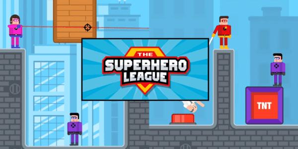 The Superhero League Logo