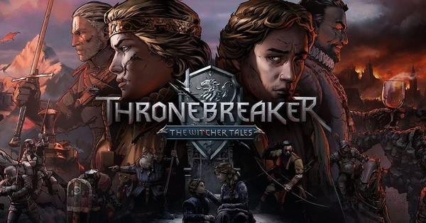 The Witcher Tales Thronebreaker Logo