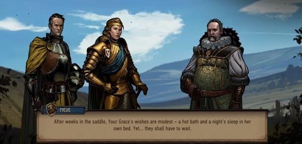 The Witcher Tales Thronebreaker Screenshot 1