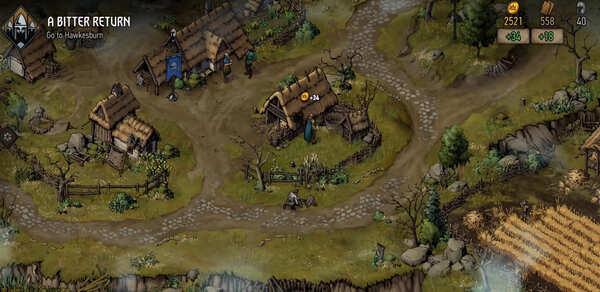 The Witcher Tales Thronebreaker Screenshot 2
