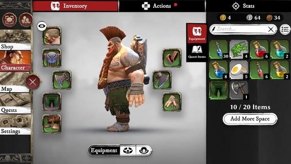 Warhammer Odyssey Screenshot 1