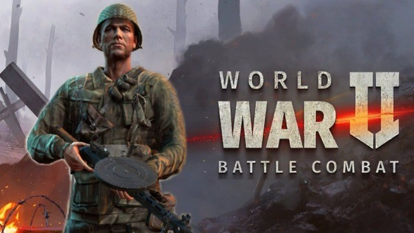 World War 2 — Battle Combat Logo
