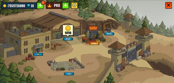 Camp Defense Mod Screenshot