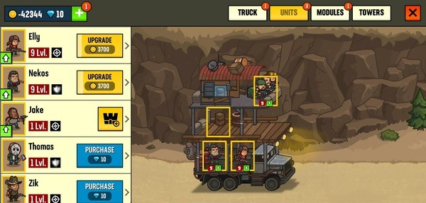Camp Defense Screenshot 1