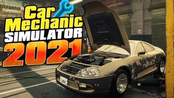 Car Mechanic Simulator 21 Logo