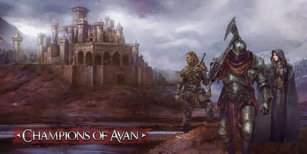 Champions of Avan Logo