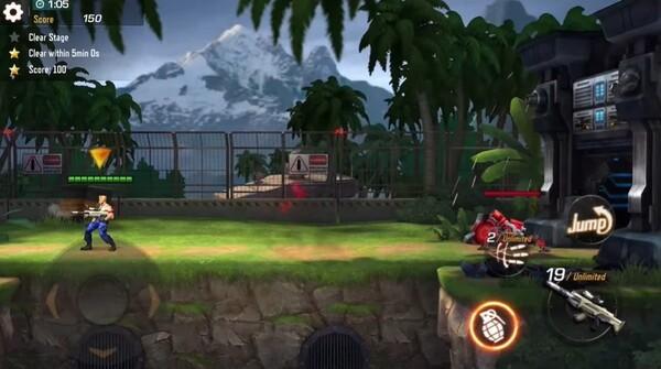 Contra Returns Screenshot 1
