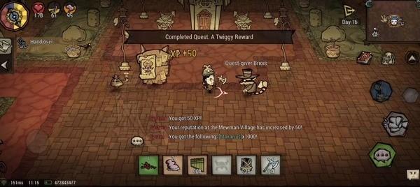 Don't Starve: Newhome Mod APK (Unlocked/Free Craft) 1.11.0.0