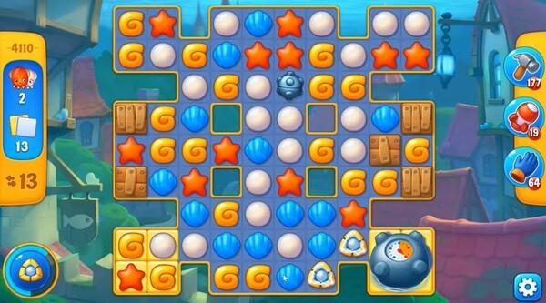 FishDom Screenshot 3T3