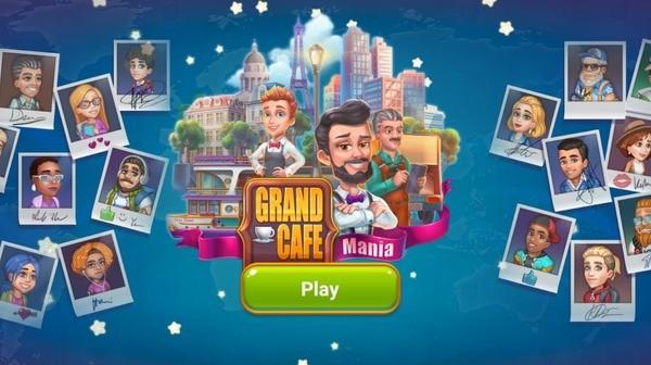 Grand Cafe Mania Logo
