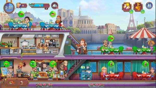 Grand Cafe Mania Screen 1