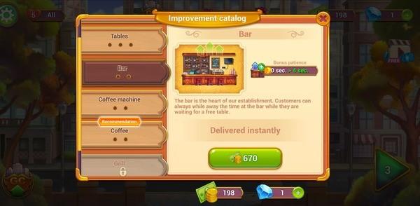 Grand Cafe Mania Screen 3