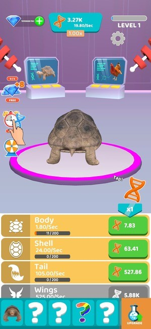 Idle Animal Evolution Mod Screenshot