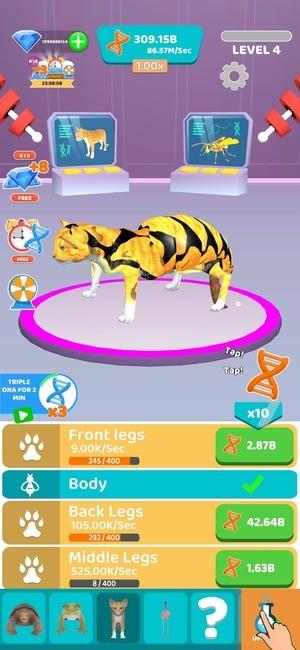 Idle Animal Evolution Screenshot 2