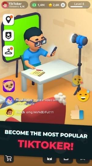 Idle Tiktoker Screenshot 1