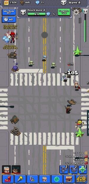 Idle Zombie Superhero Screenshot 3
