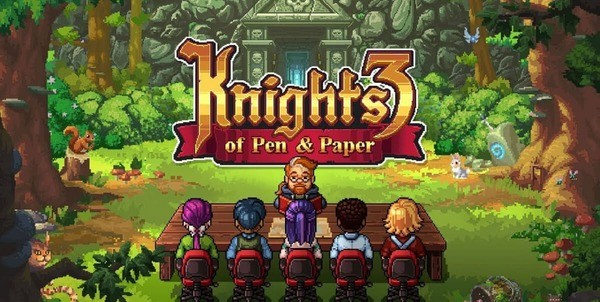 Knights of Pen and Paper 3 Logo