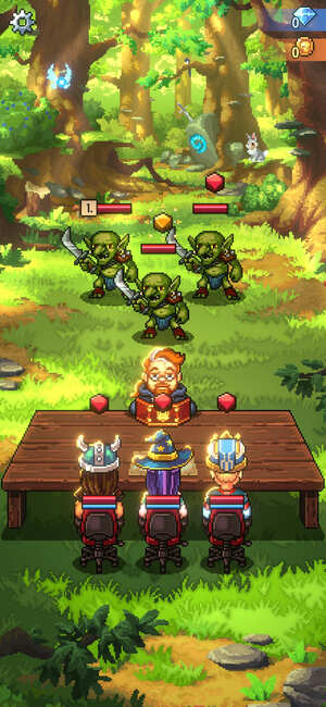 Knights of Pen and Paper 3 Screenshot 1